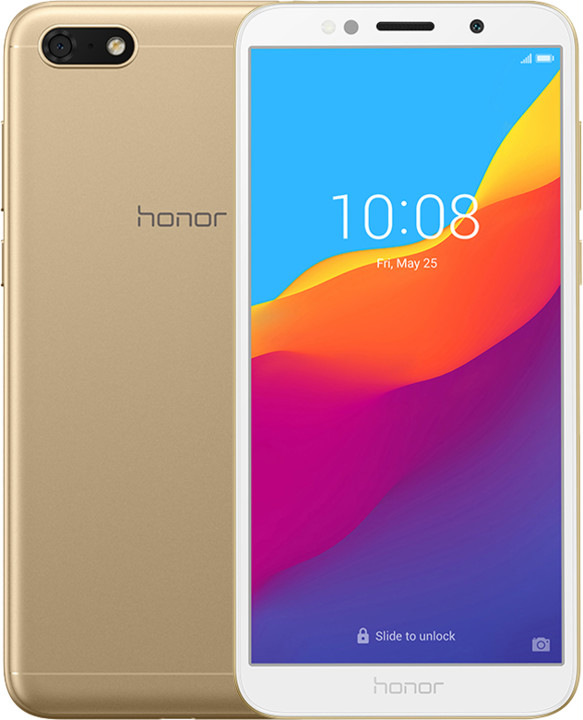 Honor 7S, 2GB/16GB, zlatý