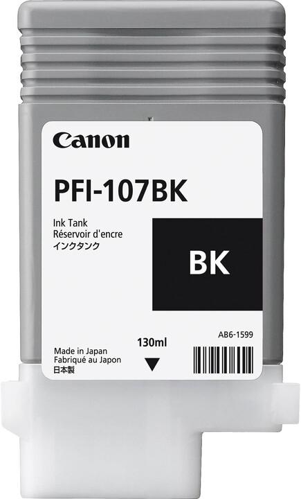 Canon PFI-107BK, black
