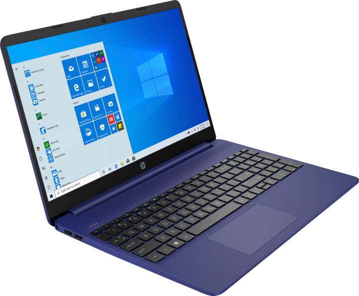 HP 15s-fq0000nc, modrá