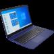 HP 15s-fq1003nc, modrá Servisní pohotovost – vylepšený servis PC a NTB ZDARMA + O2 TV Sport Pack na 3 měsíce (max. 1x na objednávku)