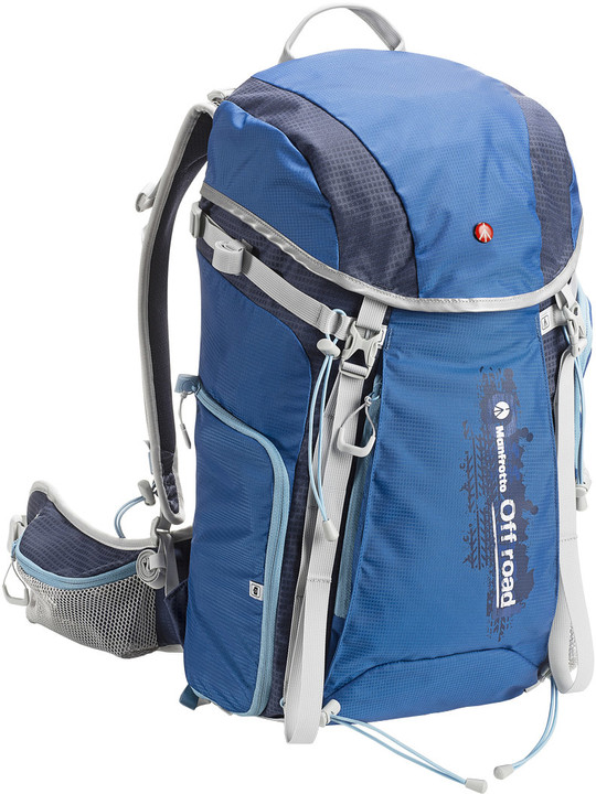 Manfrotto Off road HIKER 30L, modrá