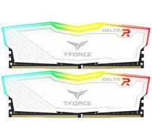 Team T-FORCE Delta RGB 16GB (2x8GB) DDR4 2666, white