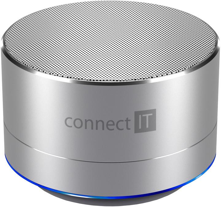 CONNECT IT CI-1227 BOOM BOX BS500, stříbrná