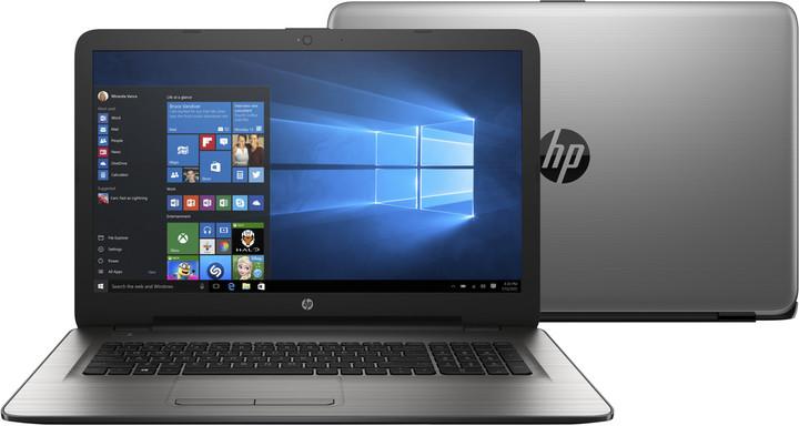 HP 17 (17-y011nc), stříbrná