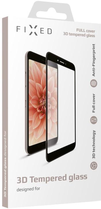 FIXED 3D Full-Cover ochranné tvrzené sklo pro Samsung Galaxy J5 (2017), černé