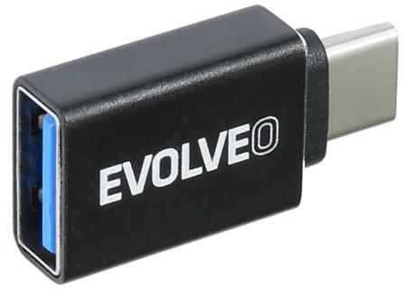 EVOLVEO C1 redukce USB A 3.1/ USB C 3.1 Gen 2, 10Gb/s
