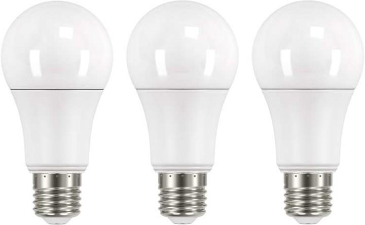 Emos LED žárovka Classic A60 14W E27 3 ks, teplá bílá
