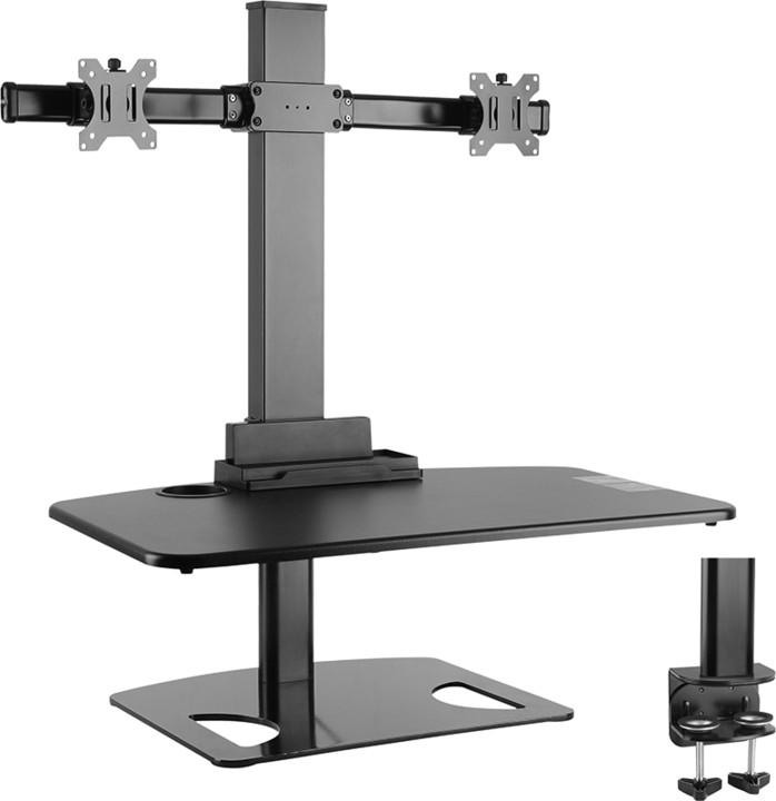Stell SOS 3120, sit-stand stolní pracovní stanice