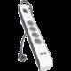 Belkin SurgeStrip přepěťová ochrana, 4 zásuvky, USB