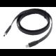 Akasa kabel USB-C 3.1 - USB-C 3.1, M/M, plochý, 1m, černá