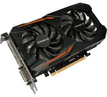 GIGABYTE GeForce GTX 1050 Ti OC 4G, 4GB GDDR5 - GV-N105TOC-4GD