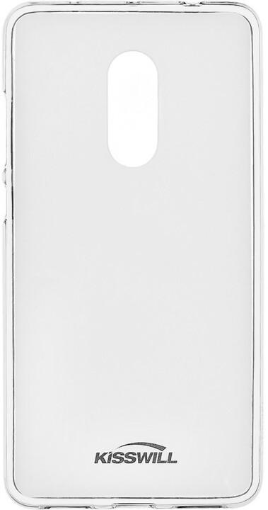 Kisswill TPU pouzdro pro Xiaomi Redmi Note 4, transparentní