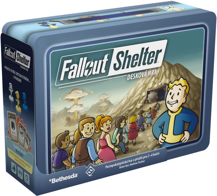 Desková hra Fallout Shelter