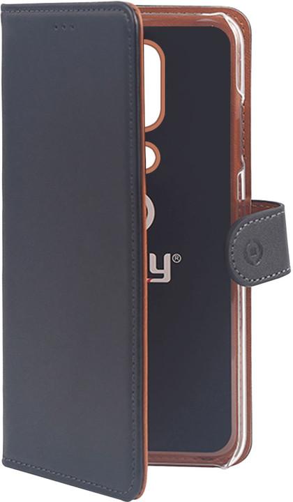 CELLY pouzdro typu kniha Wally pro Nokia 6.1 Plus, PU kůže, černá