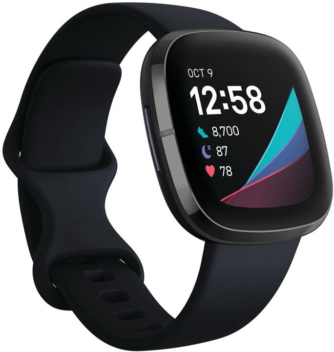 Fitbit Sense, Carbon