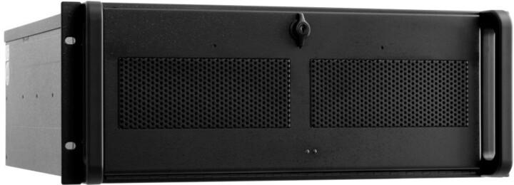 Chieftec UNC-410S-B-U3-OP, 19´´ IPC, skříň do racku, bez zdroje, USB 3.0, černý