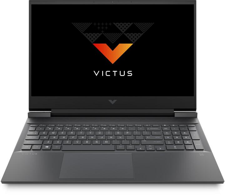 HP Victus 16-e0051nc, stříbrná