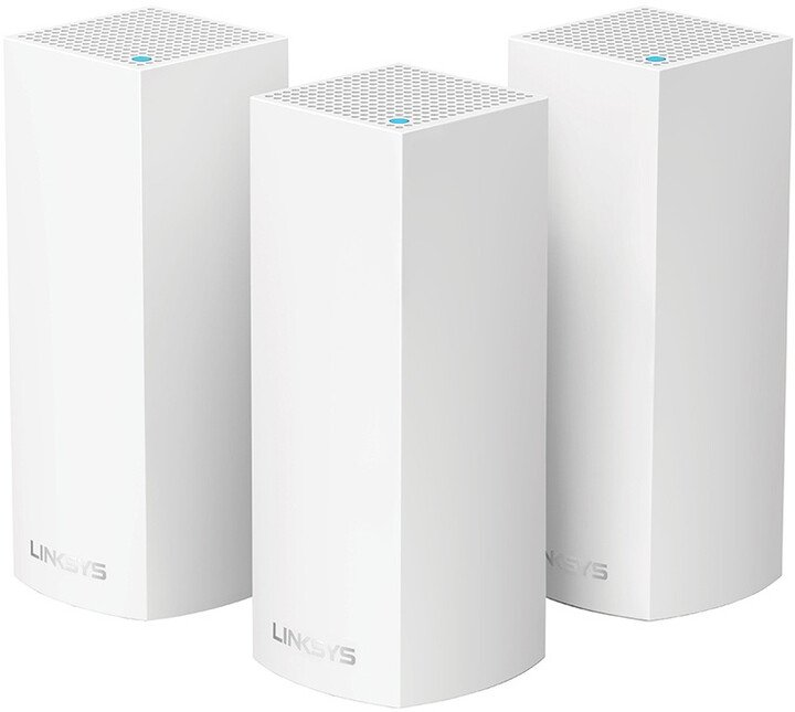 Linksys Velop Whole Home Intelligent Mesh WiFi System, Tri-Band, 3ks