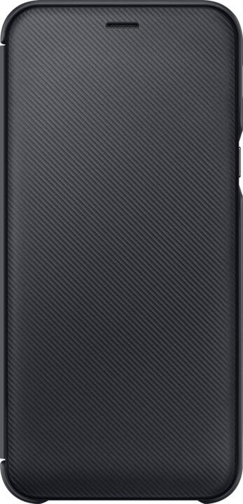 Samsung A6 flipové pouzdro, černá