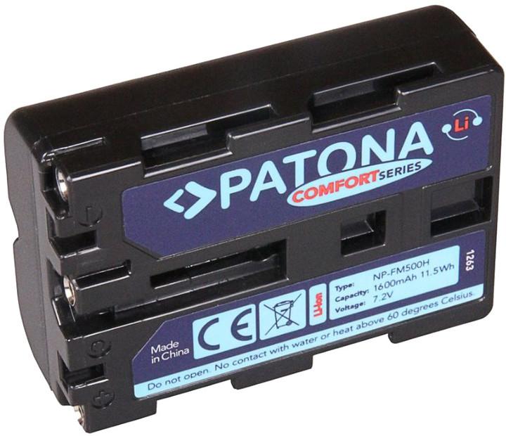 Patona baterie pro foto Sony NP-FM500H 1600mAh Li-Ion Comfort