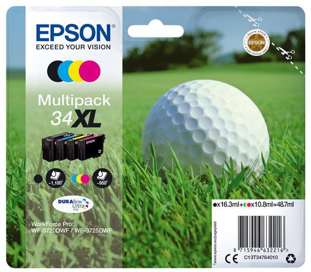 Epson C13T34764010, T347640, CMYK