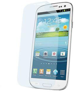 CELLY Screen protector pro displej Samsung Galaxy SIII, prémiová, lesklá, 2ks