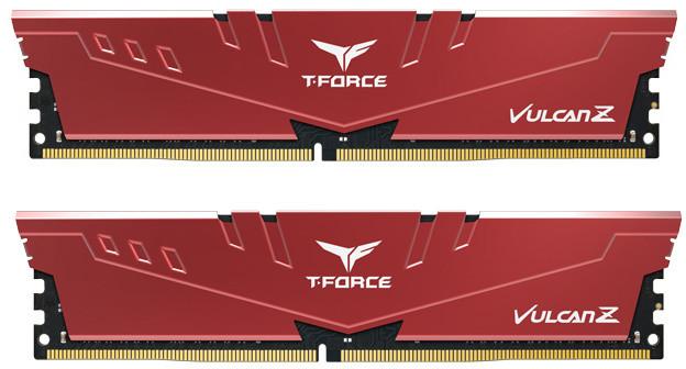 Team T-FORCE Vulcan Z 16GB (2x8GB) DDR4 3200 CL16, červená