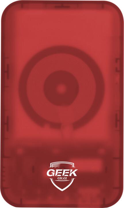 CZC 5000mAh WIRELESS POWERBANK - červená v hodnotě 499 Kč