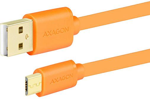 AXAGON BUMM-AM10QO, 1 m, oranžový