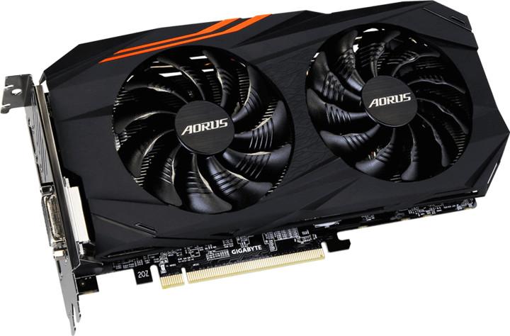 GIGABYTE Radeon AORUS RX580 4G, 4GB GDDR5