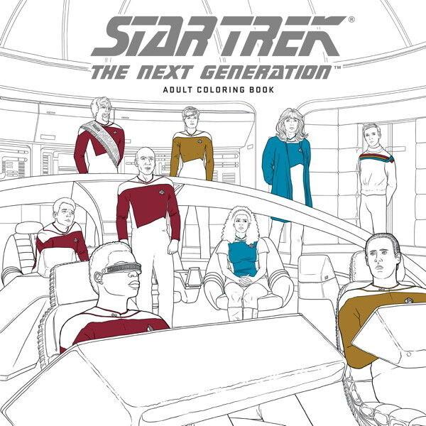 Omalovánky pro dospělé Star Trek - The Next Generation