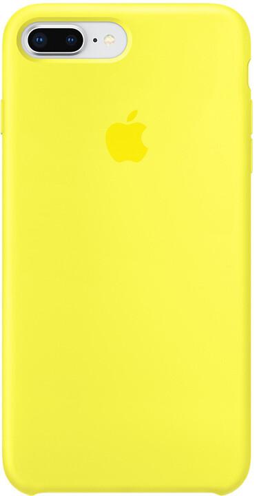 Apple silikonový kryt na iPhone 8 Plus / 7 Plus, žlutá