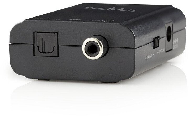 Nedis převodník digitální RCA (S/PDIF) + Toslink - 2x RCA (Stereo)