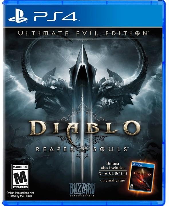 Diablo III: Reaper of Souls - Ultimate Evil Edition - PS4
