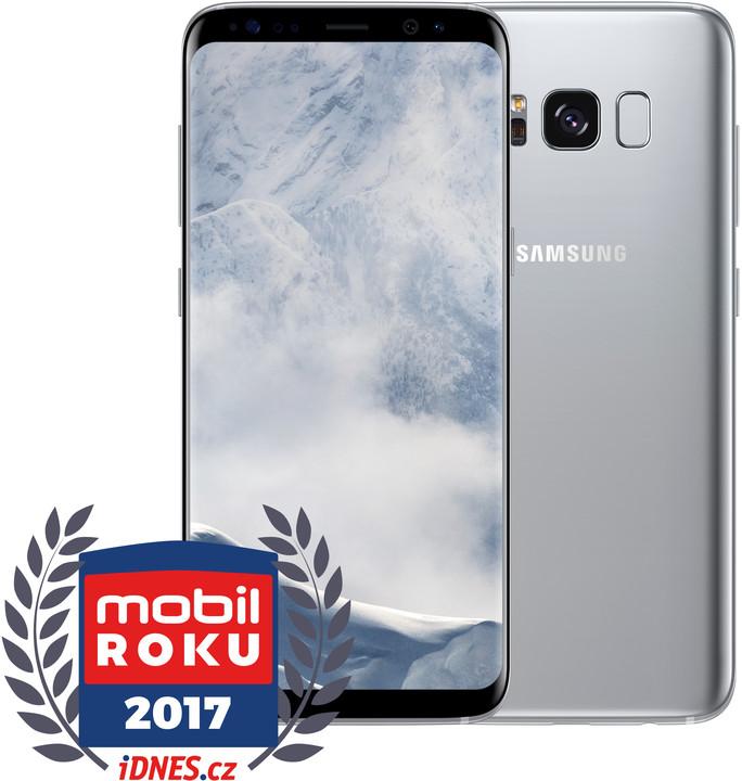 Samsung Galaxy S8, 64GB, stříbrná