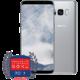 Samsung Galaxy S8, 64GB, stříbrná  + Moje Galaxy Premium servis + Aplikace v hodnotě 7000 Kč zdarma + Cashback 4000 Kč zpět