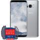 Samsung Galaxy S8, 64GB, stříbrná  + Moje Galaxy Premium servis + Aplikace v hodnotě 7000 Kč zdarma + Cashback 4000 Kč zpět + Kuki TV na 60 dní v hodnotě 800 Kč zdarma