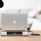 iTec Aluminium Laptop Cooling Pad chladící podložka pro notebooky se dvěma ventilátory