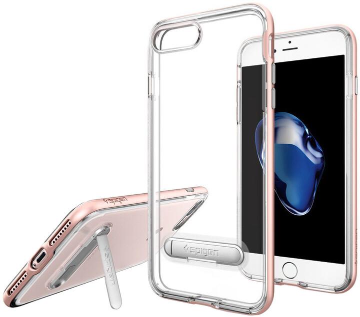 Spigen Crystal Hybrid pro iPhone 7 Plus, rose gold