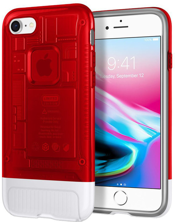 Spigen Classic C1 pro iPhone 8/7, červená