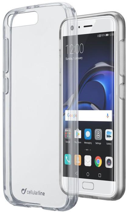 CellularLine CLEAR DUO zadní čirý kryt s ochranným rámečkem pro Huawei P10 Plus