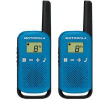 Motorola TLKR T42, modrá - B4P00811LDKMAW