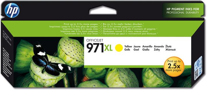HP CN628AE, žlutá, č. 971XL – ušetřete až 50 % oproti standardní náplni