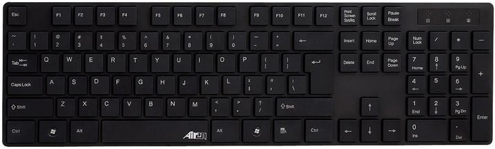 Airen AiBoard Slim Plus, černá, CZ