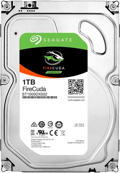 "Seagate FireCuda, 3,5"" - 1TB"