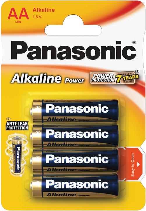 Panasonic baterie LR6 4BP AA Alk Power alk