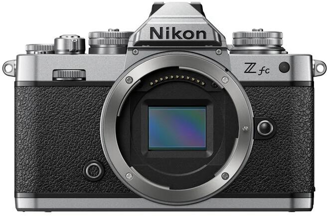 Nikon Z fc, tělo, stříbrná