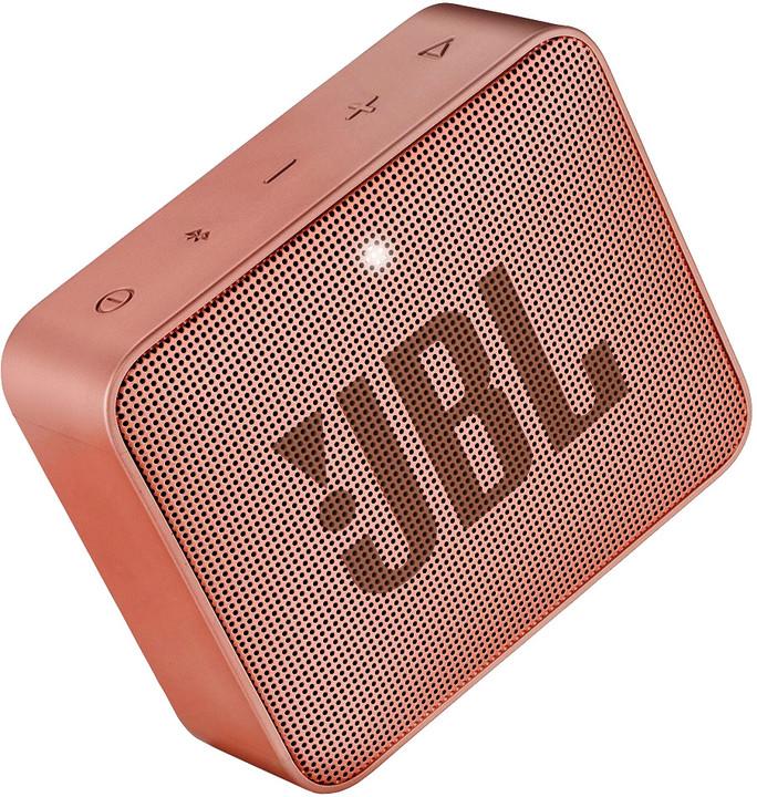 JBL GO2, skořicová