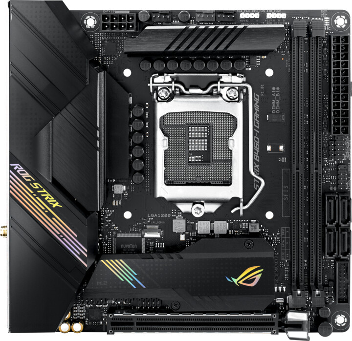 ASUS ROG STRIX B460-I GAMING - Intel B460