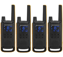 Motorola TLKR T82 Extreme, Quadpack, žlutá/černá - B8P00810YDEMAQ